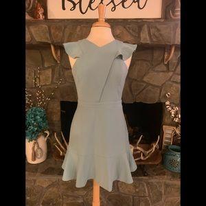 Adelyn Rae slate blue dress